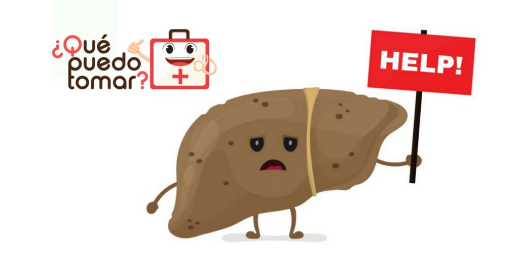 Síntomas del hígado graso e inflamado
