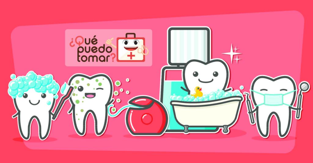 El cepillado de los dientes para mejorar la salud bucal