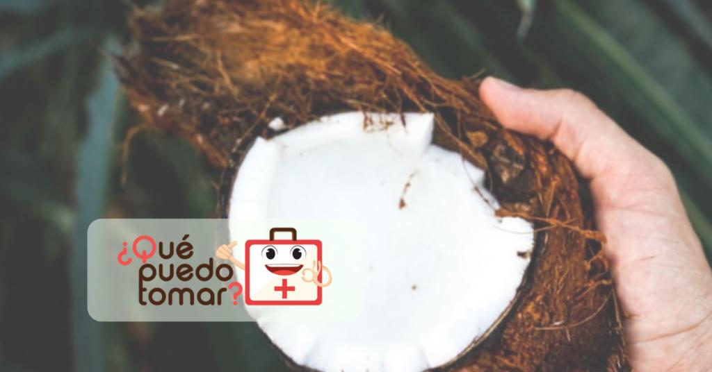 Propiedades del coco en el cuerpo humano