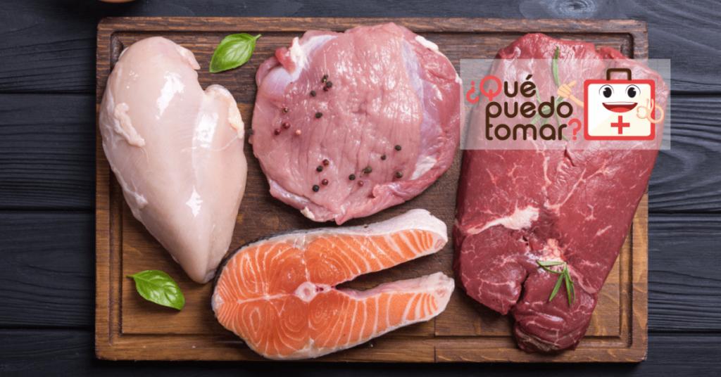 Carne magra de vaca, cerdo, cordero y aves de corral contienen altos niveles de zinc