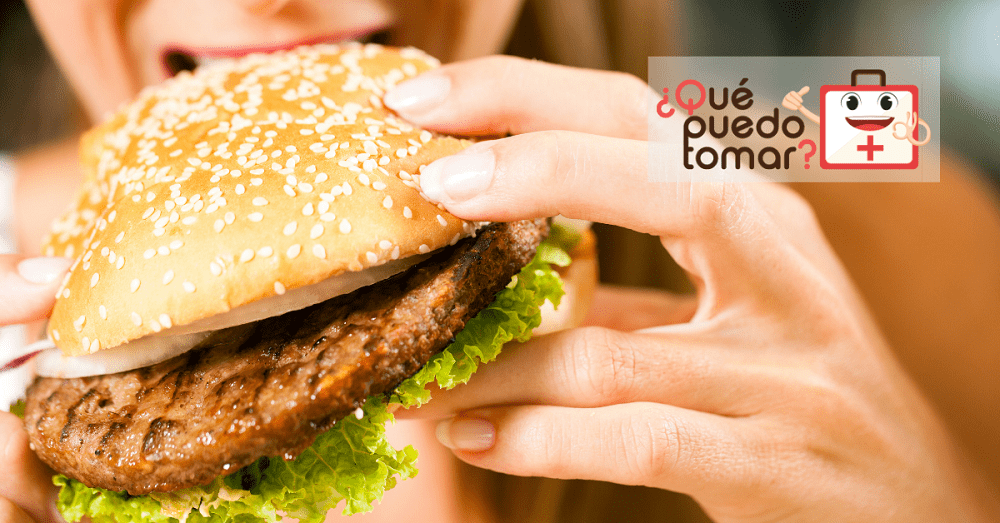 Las Hamburguesas contienen una alta cantidad de colesterol