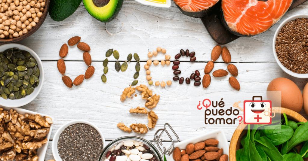 Alimentos y suplementos  con Omega 3