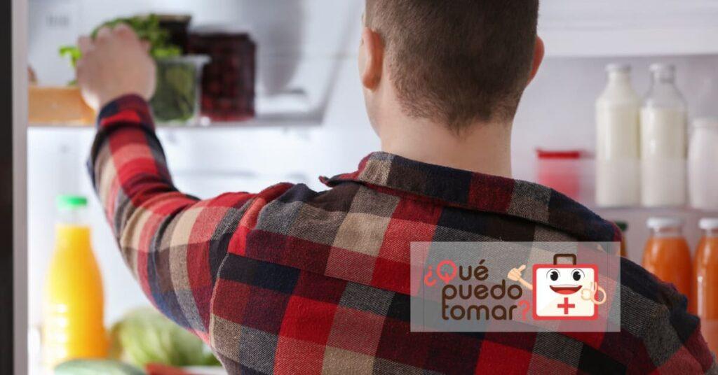 Almacenarlos los alimentos en el refrigerador