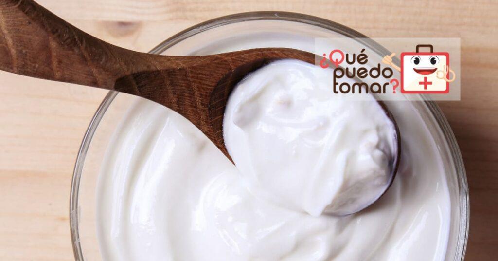 El yogur contiene lactobacilos
