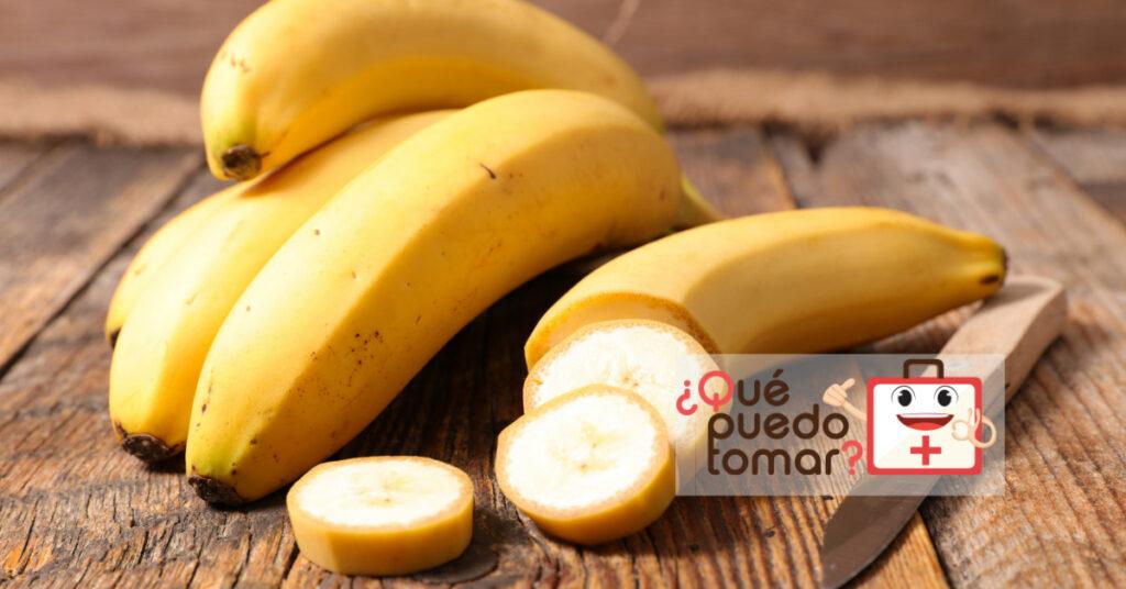 El plátano ayudan a combatir la acidez estomacal
