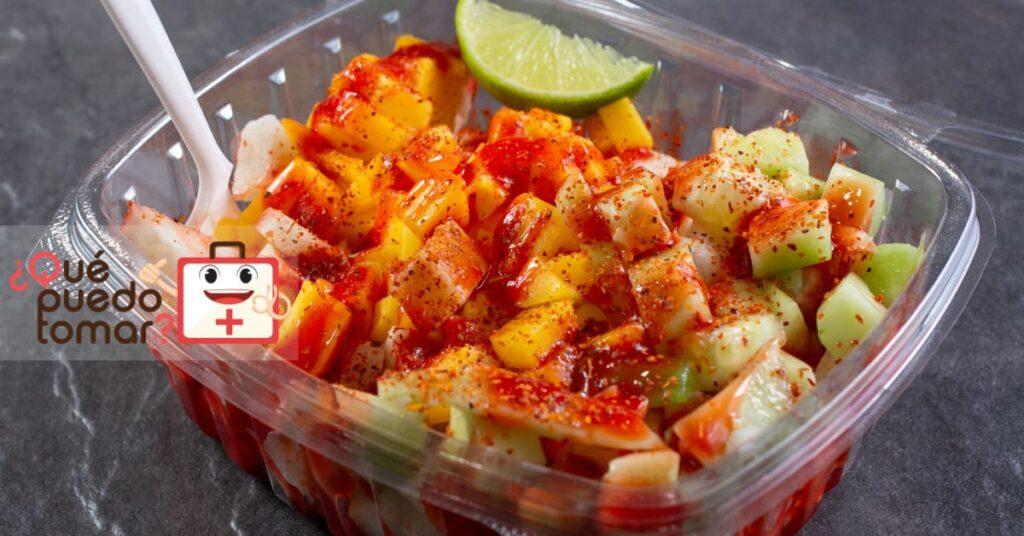 Fruta con chile
