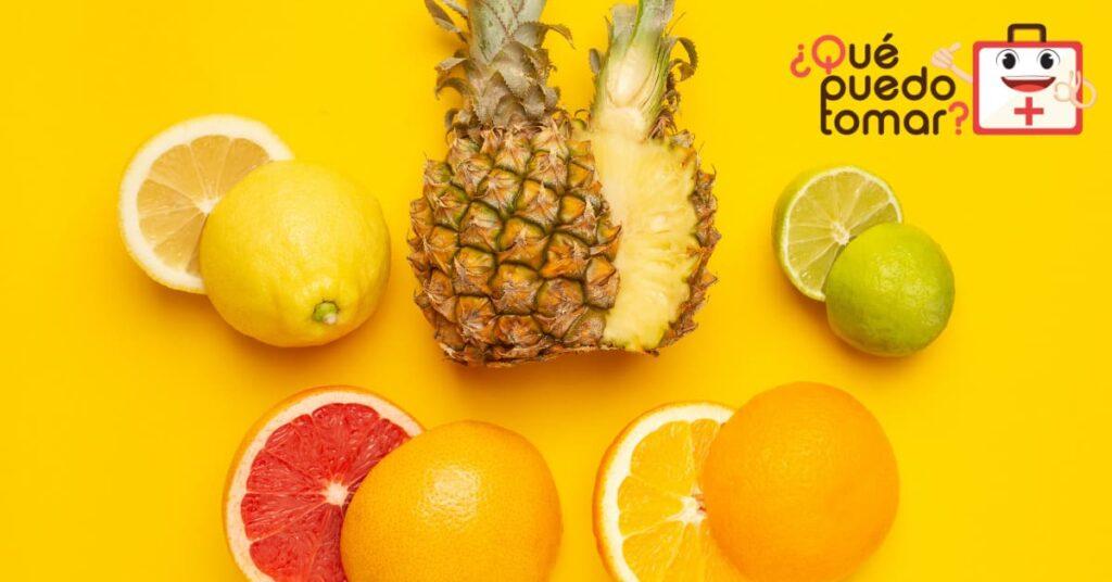 ¿qué frutas lleva el jugo antigripal?