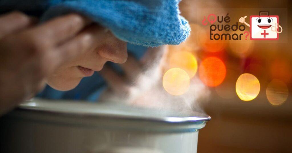 vaporizador casero para la tos