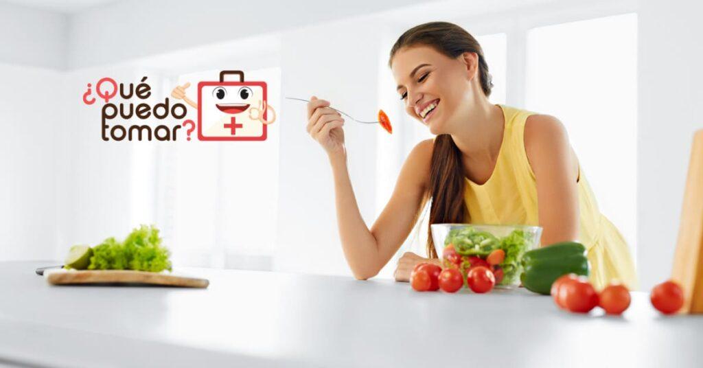 Alimentación saludable, rica en frutas y verduras