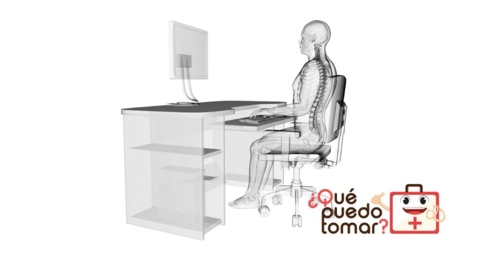 Cómo sentarse correctamente para trabajar