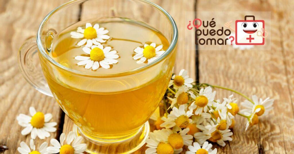 Té de manzanilla, remedio para el malestar estomacal