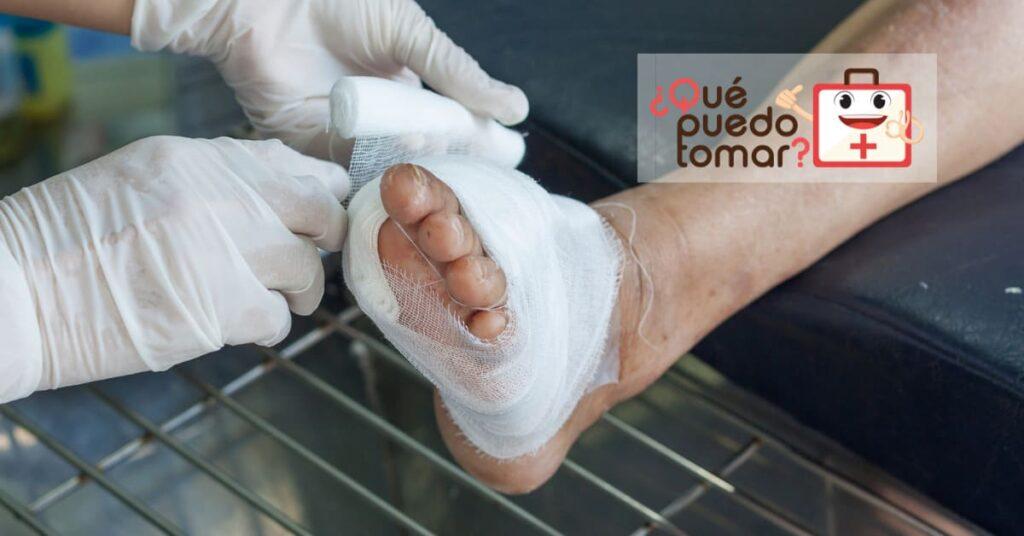 Cómo tratar las heridas de una persona con diabetes