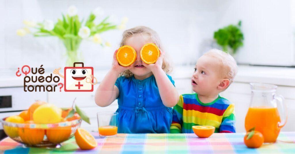 3 recetas con alimentos ricos en vitamina C para niños